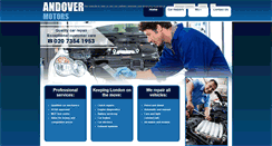 Preview of andovermotors.co.uk
